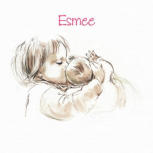 Geboorte en wegfladderen Esmee - 174